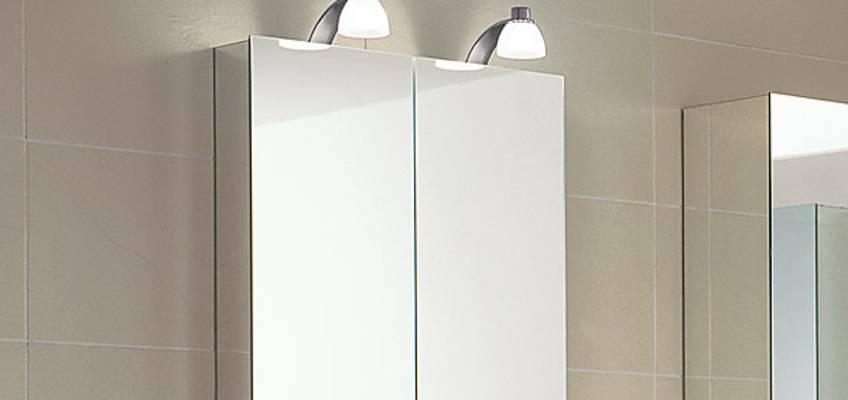 keuco royal 30 spiegelschr nke mit halogenbeleuchtung megabad. Black Bedroom Furniture Sets. Home Design Ideas