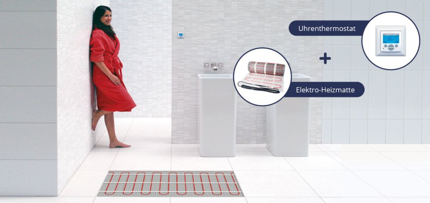 Bevorzugt Elektro-Fußbodenheizung - MEGABAD IJ66