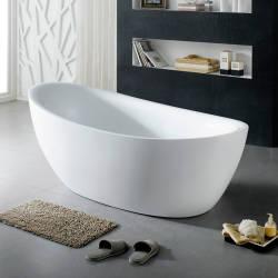 Freistehende Badewannen verschiedener Marken