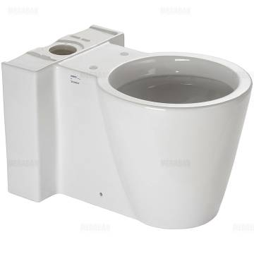 Duravit Starck 1 Stand WC-Kombination Tiefspüler