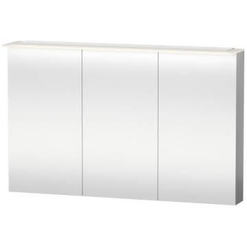 duravit delos spiegelschrank 120 cm mit led dimmfunktion art dl754400000 megabad. Black Bedroom Furniture Sets. Home Design Ideas