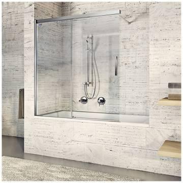 duscholux bella vita 3 schiebet r 2 teilig f r wanne sonderma bis 160cm links megabad. Black Bedroom Furniture Sets. Home Design Ideas