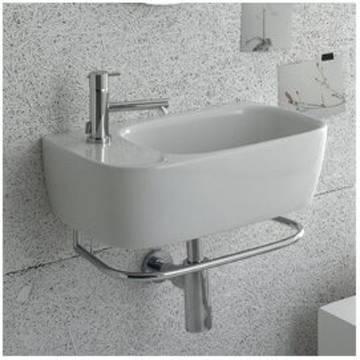 globo genesis handtuchhalter f r waschtisch 50 cm ge047 bi art pg050cr megabad. Black Bedroom Furniture Sets. Home Design Ideas
