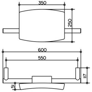 keuco plan care wc r ckenst tze 34979000037 megabad. Black Bedroom Furniture Sets. Home Design Ideas