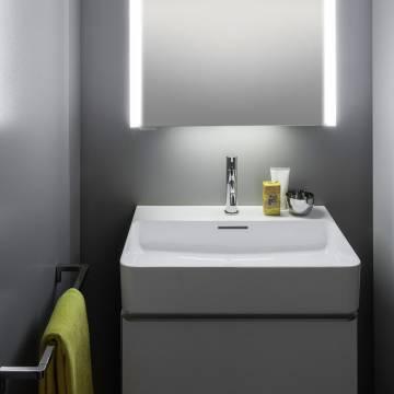 laufen val waschtisch unterbauf hig 60 x 42 cm mit 1 hahnloch mit berlauf h8102830001041. Black Bedroom Furniture Sets. Home Design Ideas