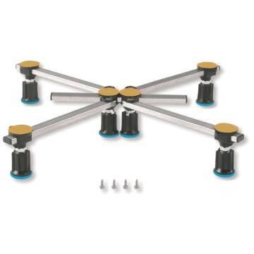 Poresta Systems Duschwannenfüße D6 Flach XL