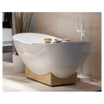 Villeroy boch my nature duo freistehende badewanne for Villeroy und boch badewanne