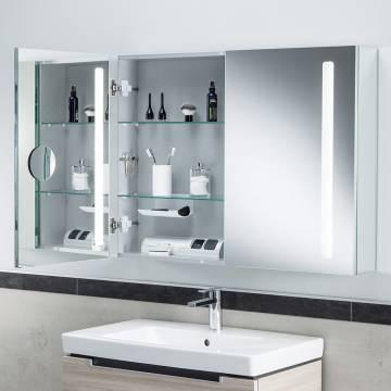 Villeroy & Boch My View 14 Spiegelschrank 100 x 75 x 17,3 cm mit LED Beleuchtung