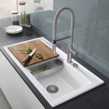 Villeroy & Boch Steel Expert Einhebel Küchenarmatur 926500LC - MEGABAD