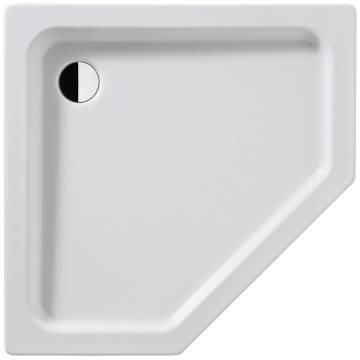 kaldewei cornezza 671 2 f nfeck duschwanne 90 x 90 cm mit tr ger megabad. Black Bedroom Furniture Sets. Home Design Ideas