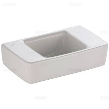 keramag renova nr 1 plan handwaschbecken 40 cm ohne hahnloch oder berlauf megabad. Black Bedroom Furniture Sets. Home Design Ideas