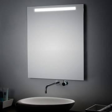 koh i noor spiegel mit oberbeleuchtung t5 60 x 90 cm art 45764 megabad. Black Bedroom Furniture Sets. Home Design Ideas