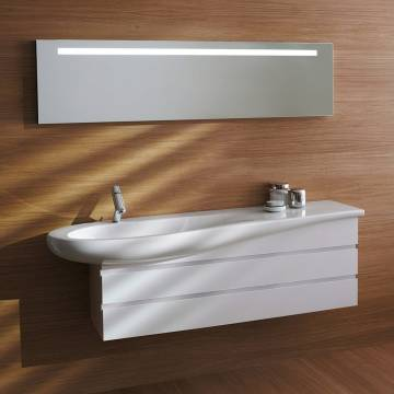 laufen alessi waschtisch 160 cm h8149714001041 megabad. Black Bedroom Furniture Sets. Home Design Ideas