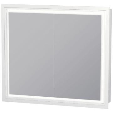 Duravit L Cube Spiegelschrank Einbauvariante Mit Led Beleuchtung 80