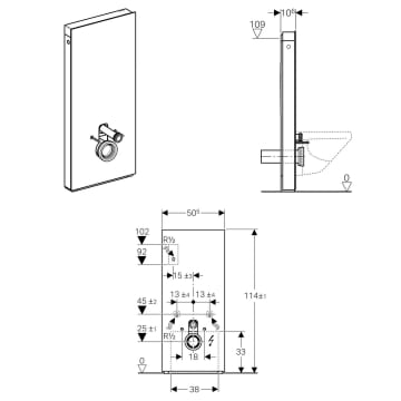 Geberit Monolith Plus Montageanleitung : geberit monolith plus sanit rmodul f r wand wc 114 cm ~ A.2002-acura-tl-radio.info Haus und Dekorationen