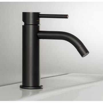 Kronenbach Lima 2.0 Black Waschtischeinhebelmischer ohne Ablaufgarnitur
