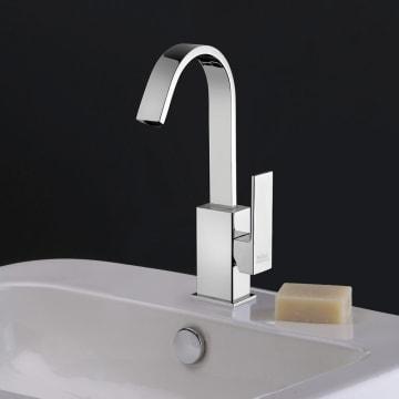 Kronenbach Quara 2.0 Waschtisch-Einhebelmischer mit hohem Auslauf