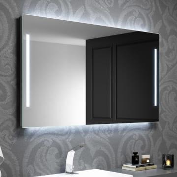 Kronenbach Sun Lichtspiegel 100 x 70 cm mit LED Seiten- und Hintergrundbeleuchtung