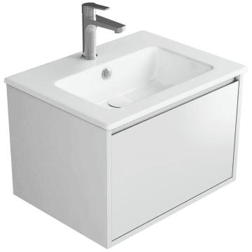 Megabad Loft Waschtischkombination 60 cm mit 1 Auszug