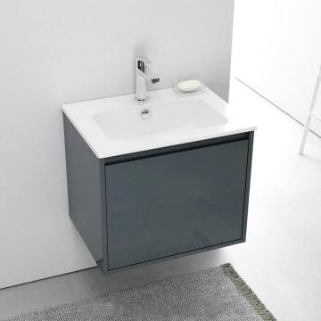 Megabad Loft Waschtisch mit Unterschrank 60 cm mit 1 Auszug