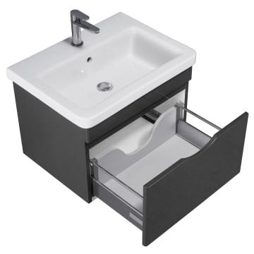 Megabad Home Waschtischkombination 60 Cm 21ng1301060e10ps50060