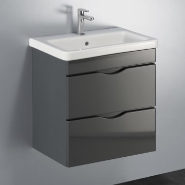 Megabad Home Waschtischkombination 60 cm mit 2 Auszügen