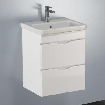 Megabad Home Waschtischkombination 50 cm mit 2 Auszügen