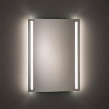 Megabad Architekt 300 LED Flex 60 x 80 cm, mit satiniertem Lichtausschnitt links und rechts
