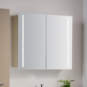 Bekannt Architekt 400 Spiegelschrank 60 cm mit LED-Beleuchtung - MEGABAD MC31