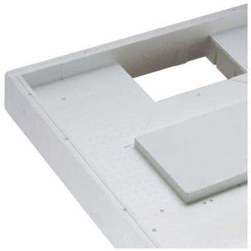 Bekannt Poresta Systems Wannenträger für Bette Supra Duschwanne Extraflach RG54