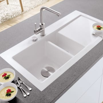 Villeroy & Boch Subway 60 flat Spüle Becken links ...