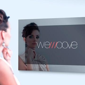 """WeMoove Spiegel-TV 48 cm 19"""" wasserdicht"""