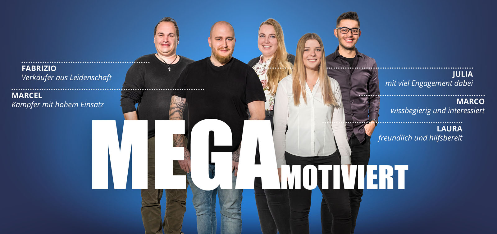 MEGA Motiviert