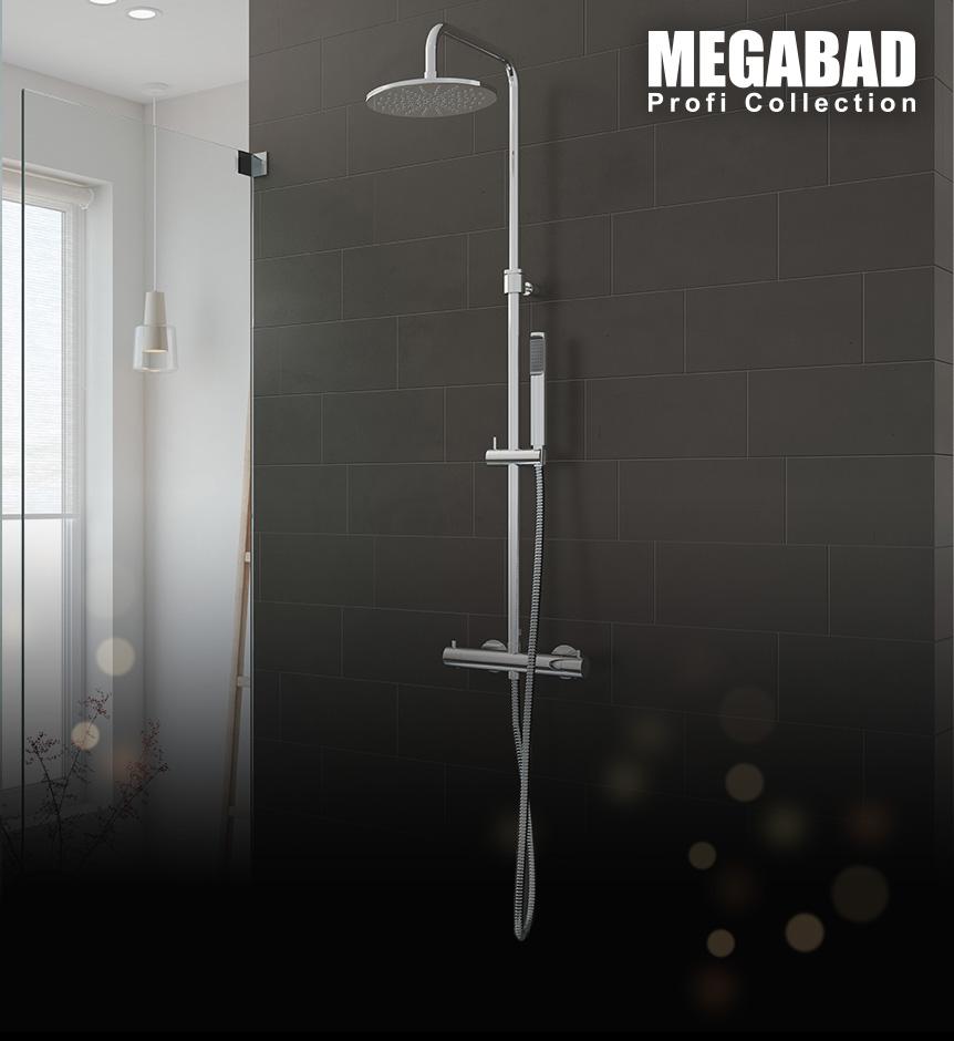 Duschsysteme von Megabad