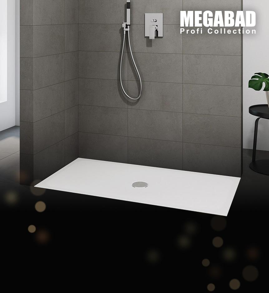 Duschwannen von Megabad