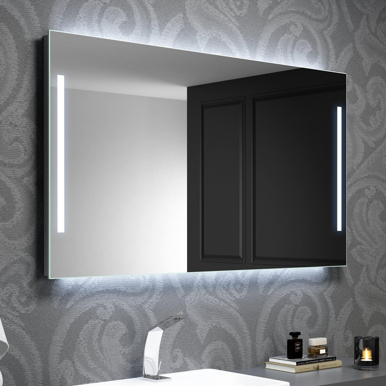 Kronenbach Sun Lichtspiegel 100 X 60 Cm Mit Led Seiten Und Hintergrundbeleuchtung