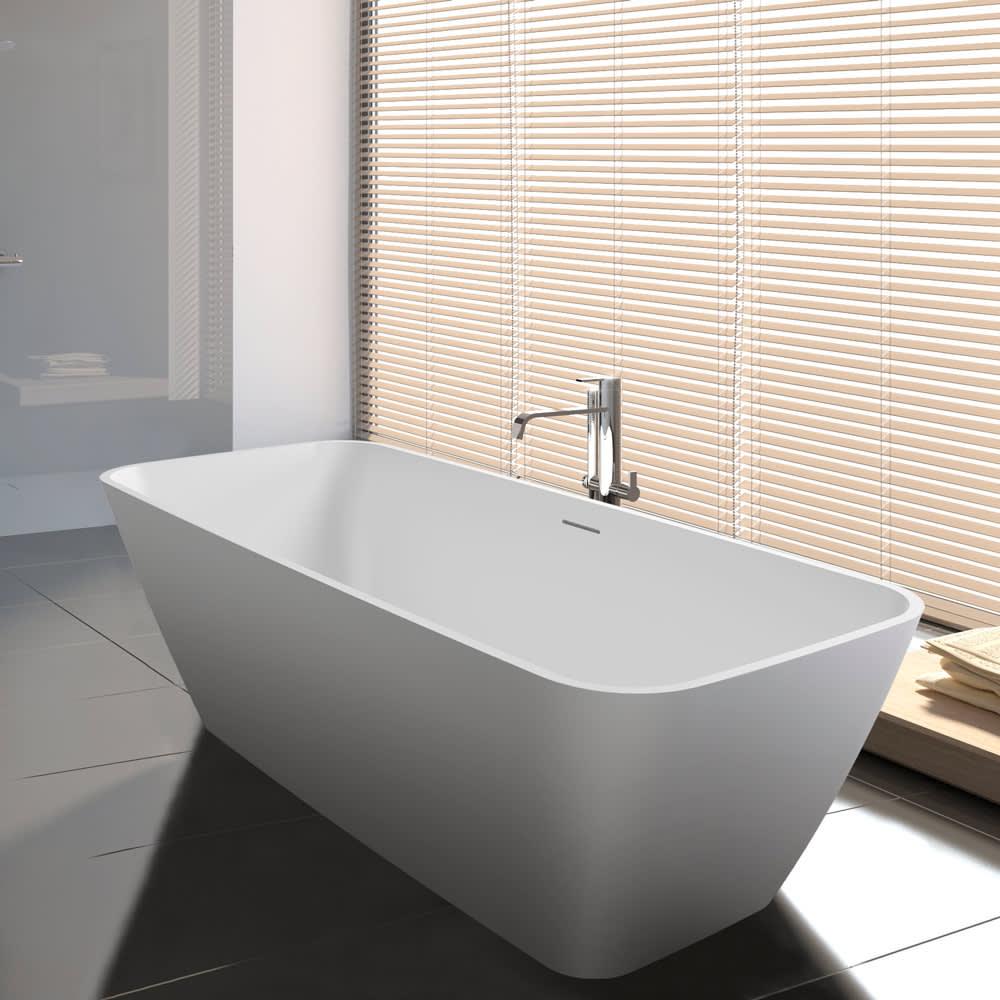 Riho malaga freistehende badewanne 160 x 75 cm bs30005 megabad