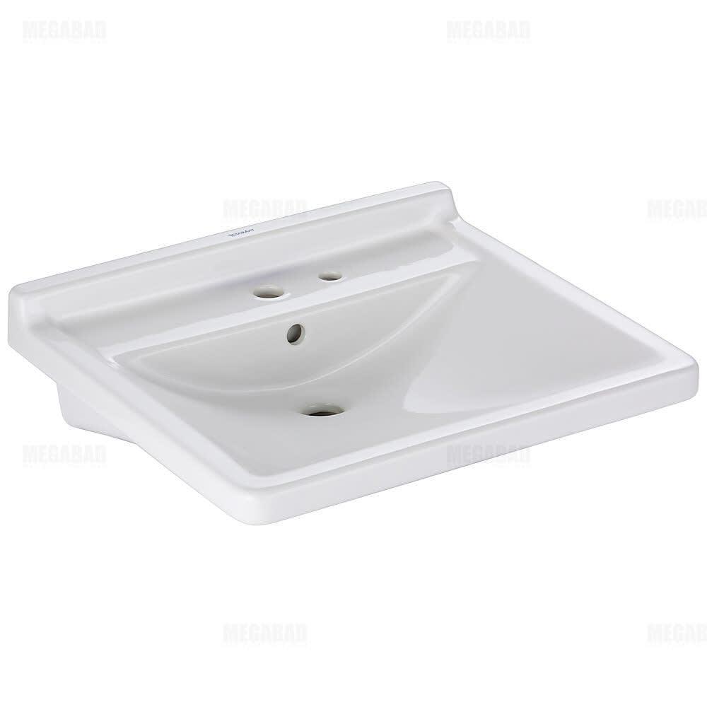 Duravit Starck 3 Waschtisch Vital 60 Cm Art 0309600038 Megabad