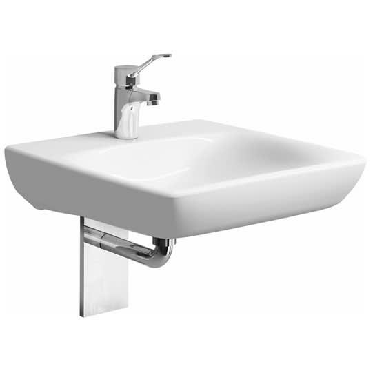 Keramag Renova Nr1 Comfort Waschtisch 55 Cm Unterfahrbar Mit
