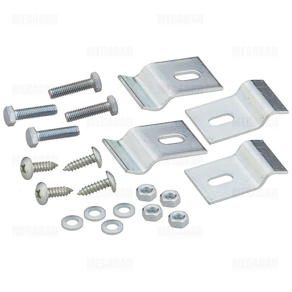 ideal standard waschtisch-befestigung für holz- und marmorplatten