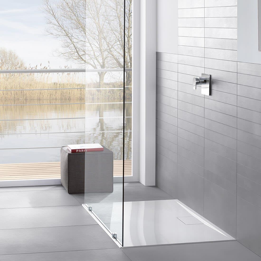 Villeroy & Boch Architectura Metalrim Duschwanne 120 x 90 x 1,5 cm ...